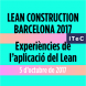 Lean Construction Barcelona 2017