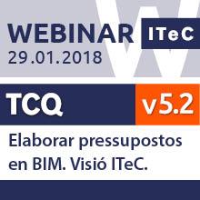 Webinar: Elaborar pressupostos en BIM. Visió ITeC