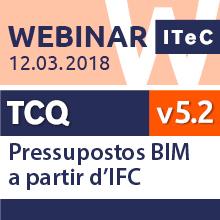 Webinar: Pressupostos BIM a partir de IFC