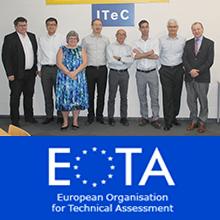 Reunió del grup de treball EOTA per a productes retardants del foc a l'ITeC