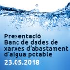 Banc de dades de xarxes d'abastament aigua potable