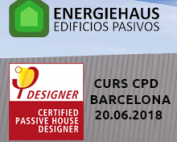 Nova edició del Curs Passivhaus Designer d'Energiehaus a Barcelona