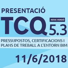 Jornada Presentació TCQ 5.3 [AFORAMENT COMPLET]