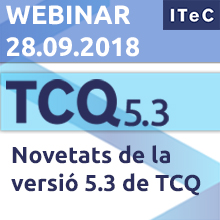 Webinar: Novetats de la versió 5.3 de TCQ