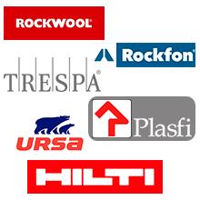 Actualitzada la informació de Hilti, Plasfi, Rockfon, Rockwool, Trespa i Ursa al Registre de Materials