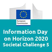 Information and Networking Days on Horizon 2020 – Societal Challenge 5
