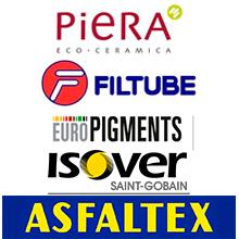 Actualitzada la informació de Piera ecocerámica, Europigments, Isover, Asfaltex i Filtube al Registre de Materials
