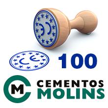 El certificat de marcatge CE número 100 de l'ITeC s'atorga a Cementos Molins