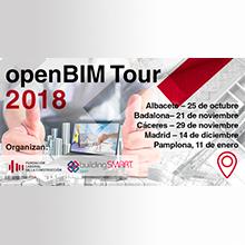 L'ITeC participa a l'OpenBIM Tour 2018 a les sessions de Badalona i Pamplona