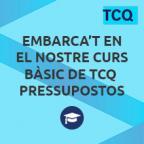 Embarca't en el nostre curs bàsic de TCQ Pressupostos