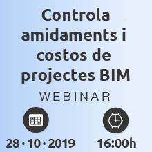 Control total d'amidaments i costos de projectes BIM, amb fluxos de treball basats en Navisworks i TCQ