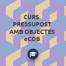 Primer curs de pressuposts amb objectes eCOB®