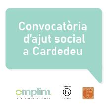 OMPLIM anuncia el guanyador de la Convocatòria d'Ajut Social a Cardedeu
