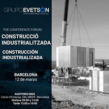 Arriba a Barcelona el primer congrés sobre construcció industrialitzada