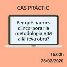 És el moment d'incorporar la metodologia BIM a la teva obra