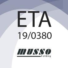 Musso Holding SRL obté l'ETA 19/0380 per a Ecco House for each site Building kit