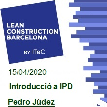 Introducció a IPD. Pedro Júdez