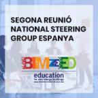 Segona reunió National Steering Group Espanya