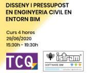 Nou curs de disseny i pressupost en enginyeria civil en entorn BIM