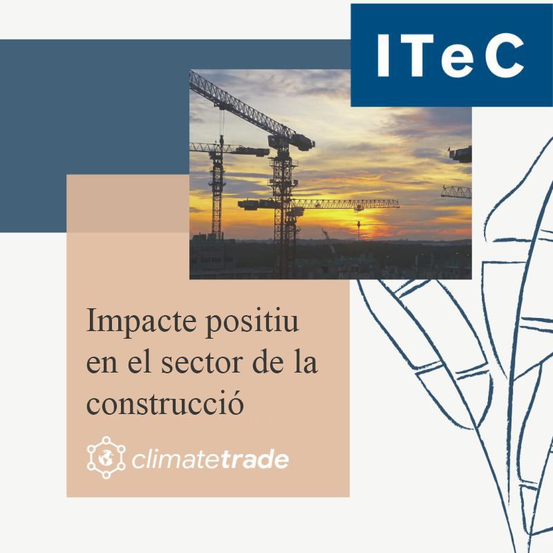 Aliança per impulsar la mitigació de l'impacte ambiental del sector de la construcció