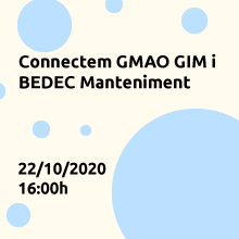 Connectem el GMAO GIM de tcman i la base de dades BEDEC Manteniment