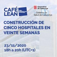 La construcción de cinco hospitales en veinte semanas