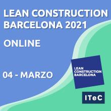 Lean Construction Barcelona 2021